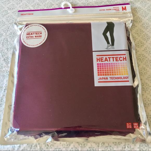 dc846bd149d38 Uniqlo Pants | Nwt Heattech Extra Warm Leggings | Poshmark